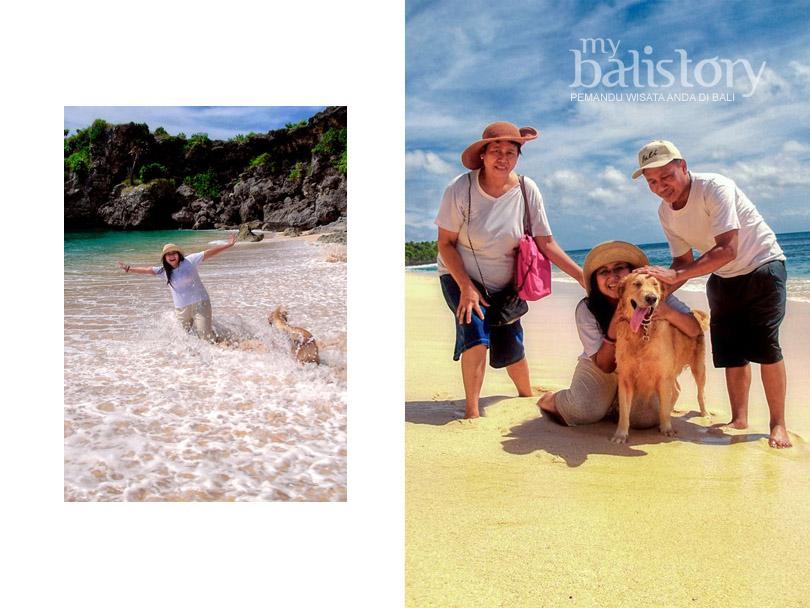 Balangan Beach keluarga djaseri