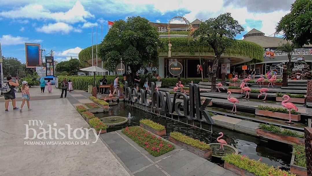 Beachwalk Kuta Pusat Perbelanjaan Dan Restoran Terbesar Di Kuta Bali
