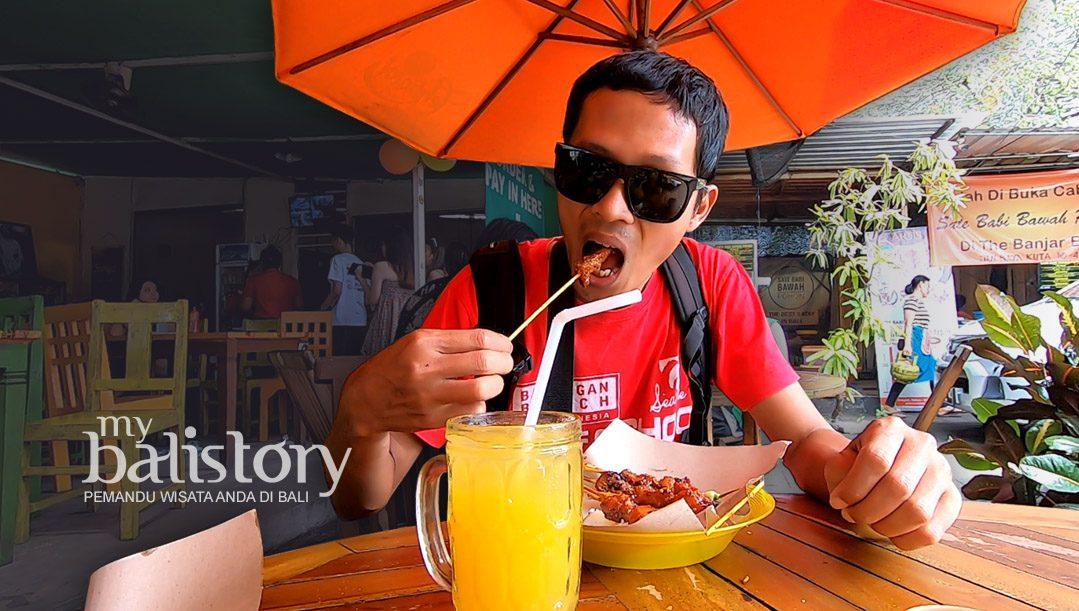 Sate Babi Bawah Pohon Kuliner Khas Bali Yang Wajib Dikunjungi