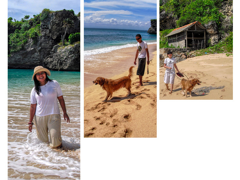Pantai balangan tahun 2010