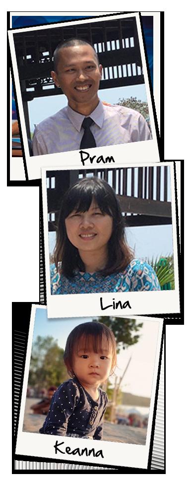 Dian Pramono family