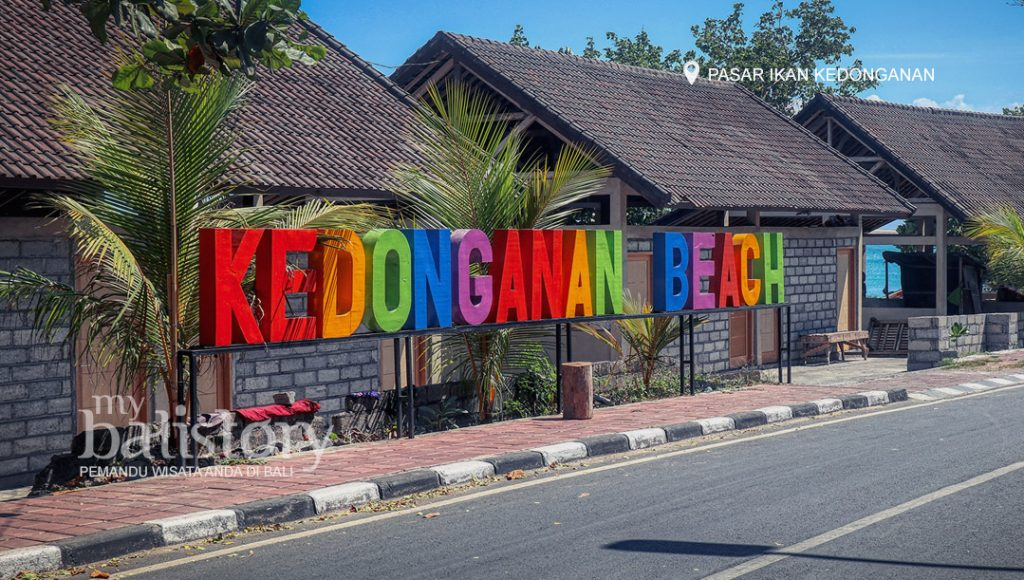 kedonganan beach letter