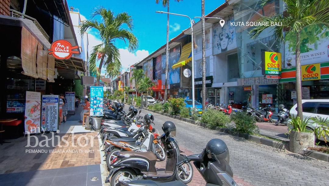 Kawasan Kuta Square Bali