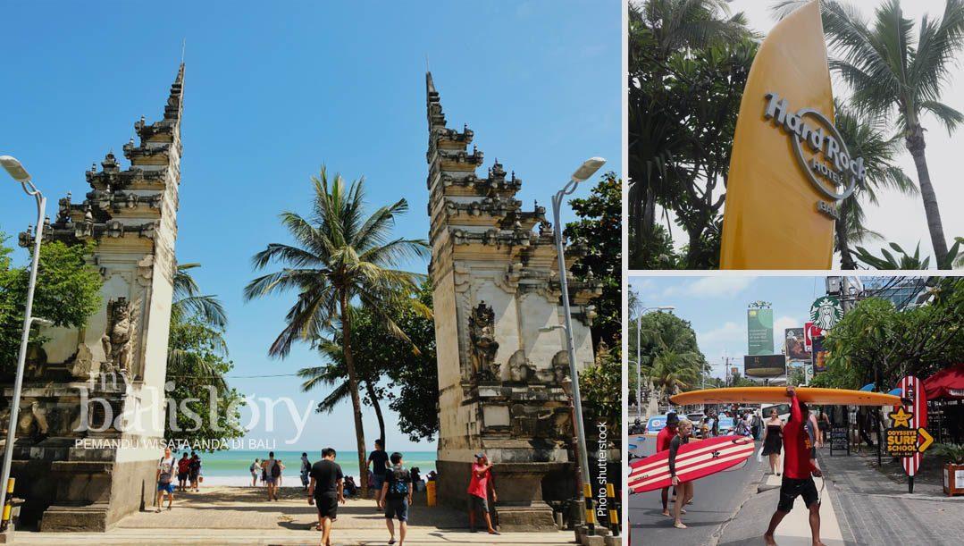 Pantai Kuta Bali | Pantai Pertama Yang Terkenal Di Bali