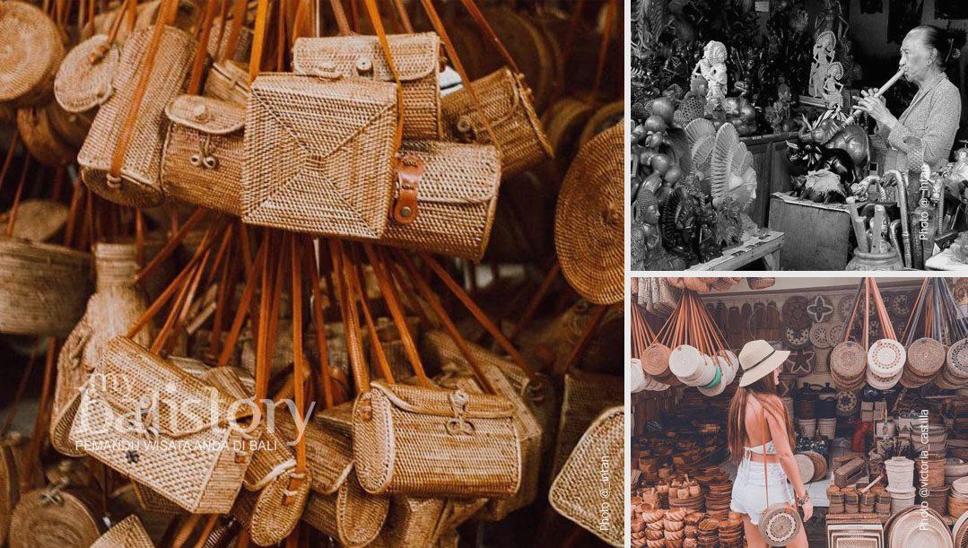 Pasar Seni Ubud Tempat Belanja Oleh-oleh Di Ubud Bali