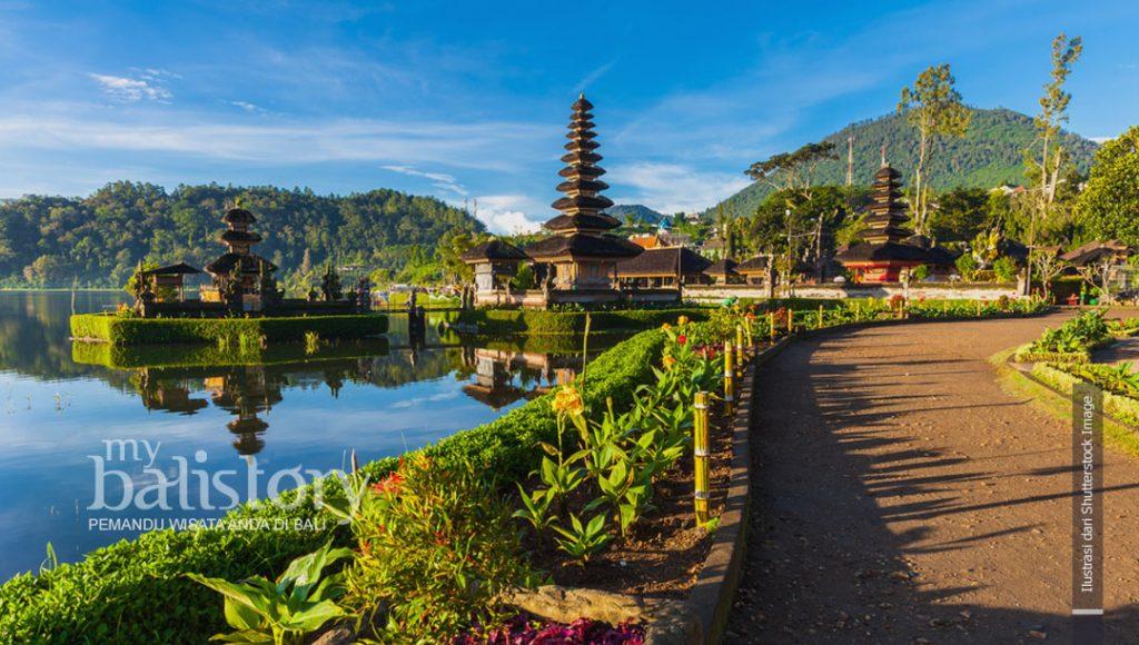 Pura Ulun Danu Bedugul Bali Tempat Wisata Referensi Tempat