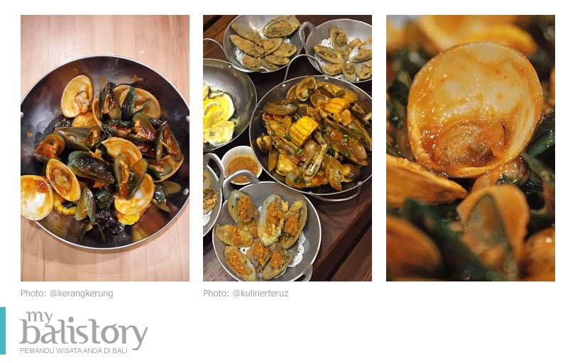 Kerang Kerung seafood Bali