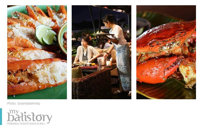 Sambal Shrimp seafood Bali