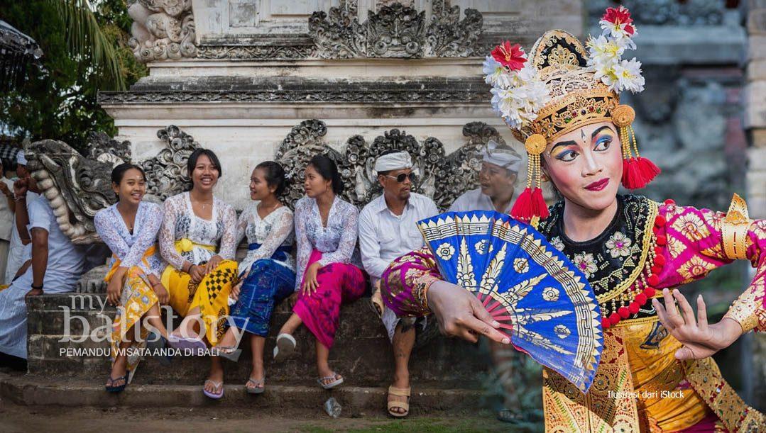 Penggunaan Pakaian Daerah Bali Bertujuan Untuk Melestarikan Budaya
