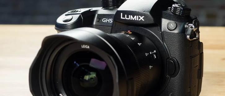 Kamera Panasonic Lumix GH5 Kamera Mirrorless terbaik untuk Travelling