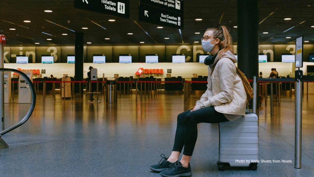 Suasana di airport era new normal covid 19