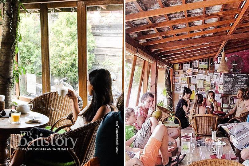 Cafe Vespa Ubud - Tempat Nongkrong di Ubud